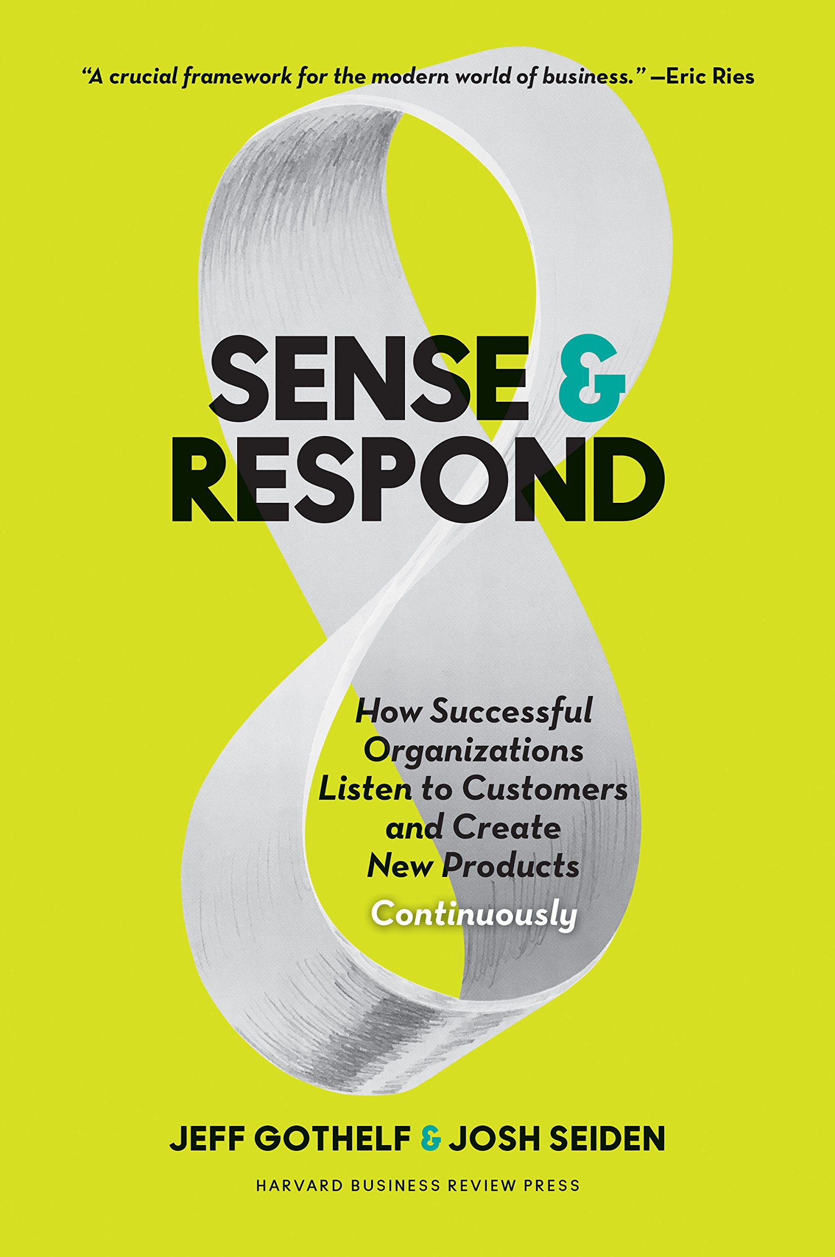 Sense and respond book cover