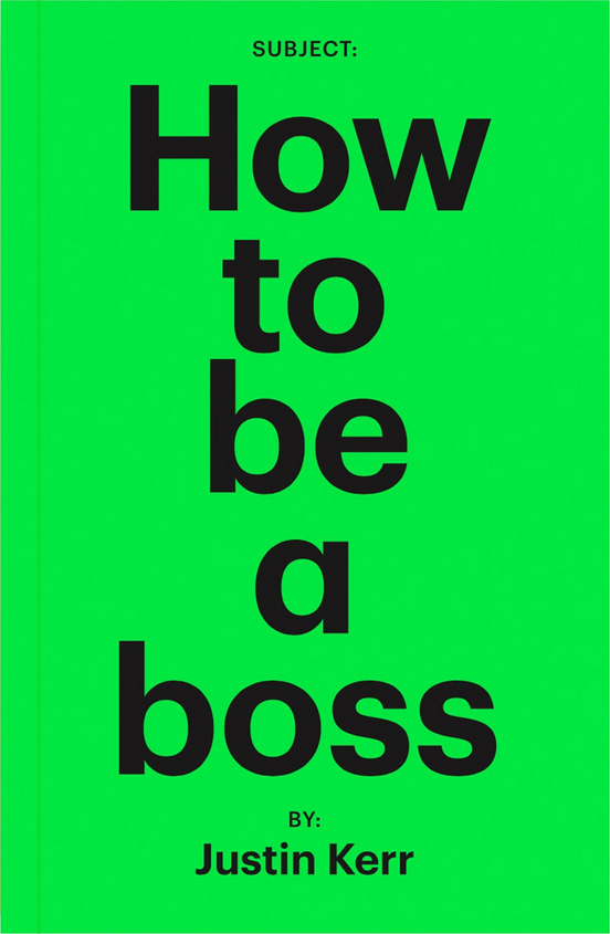 How to be a boss book cover
